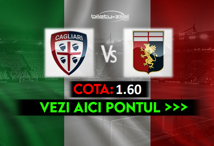 Cagliari – Genoa ponturi pariuri 22.05.2021