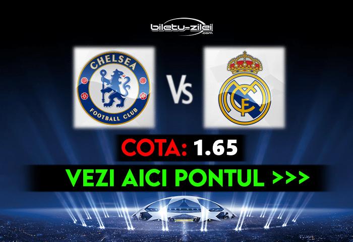 Chelsea – Real Madrid ponturi pariuri 05.05.2021