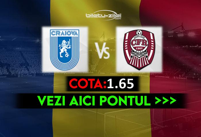 Craiova – CFR Cluj ponturi pariuri 15.05.2021