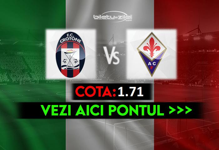 Crotone – Fiorentina ponturi pariuri 22.05.2021