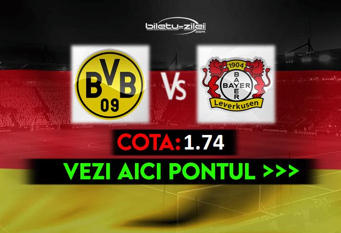 Dortmund – Leverkusen ponturi pariuri 22.05.2021