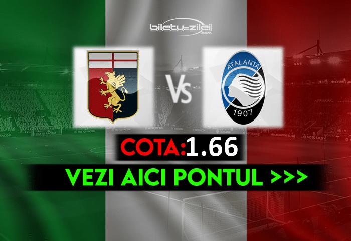 Genoa – Atalanta ponturi pariuri 15.05.2021