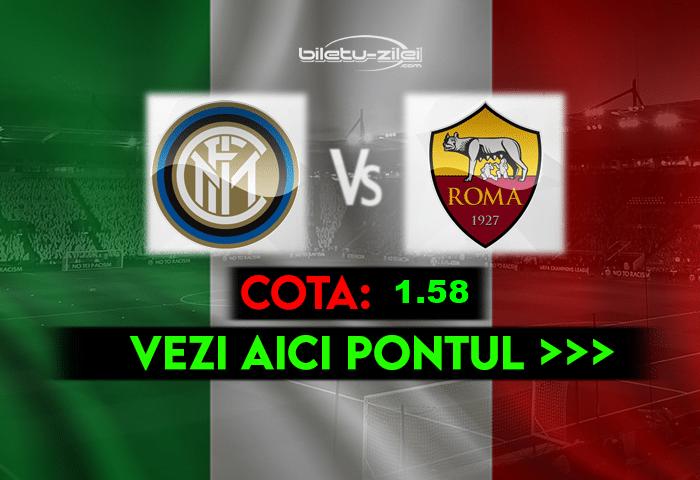 Inter – Roma ponturi pariuri 12.05.2021