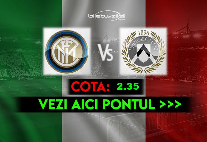Inter – Udinese ponturi pariuri 23.05.2021