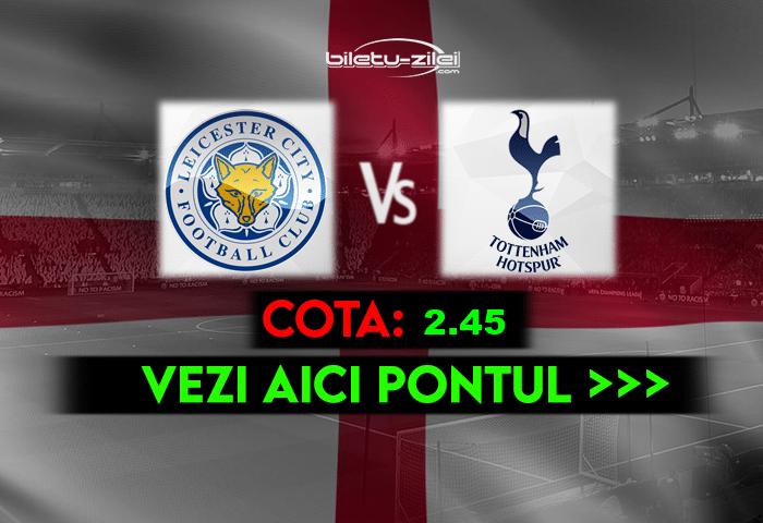Leicester – Tottenham ponturi pariuri 23.05.2021