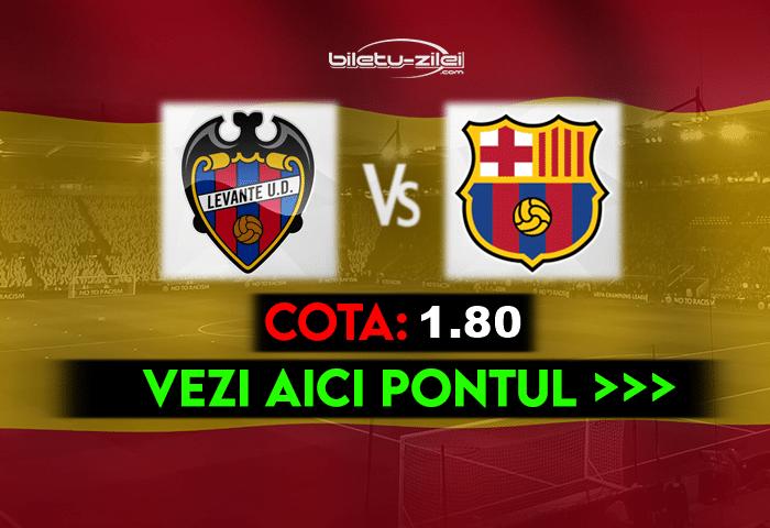 Levante – Barcelona ponturi pariuri 11.05.2021