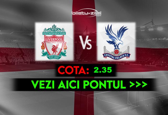 Liverpool – Crystal Palace ponturi pariuri 23.05.2021