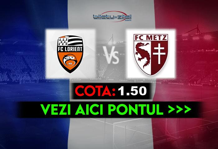 Lorient – Metz ponturi pariuri 16.05.2021