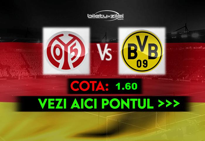 Mainz – Dortmund ponturi pariuri 16.05.2021