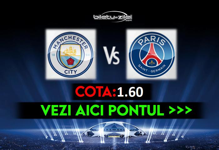 Manchester City – PSG ponturi pariuri 04.05.2021