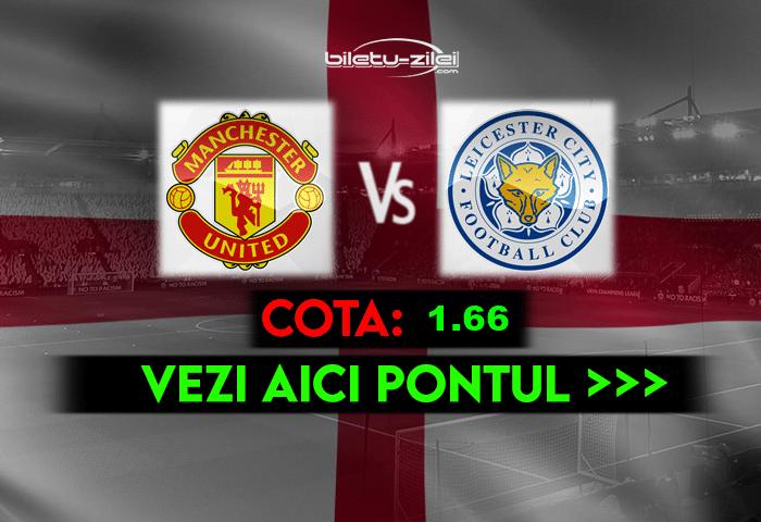 Manchester United – Leicester ponturi pariuri 11.05.2021