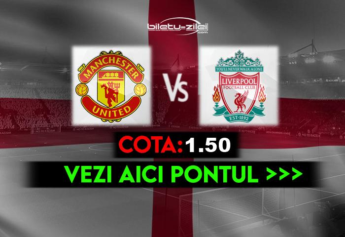 Manchester United – Liverpool ponturi pariuri 13.05.2021