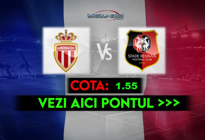 Monaco – Rennes ponturi pariuri 16.05.2021