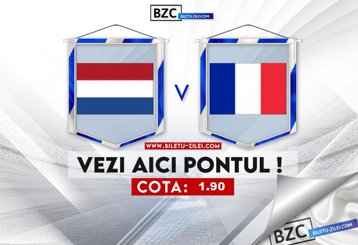 Olanda U21 – Franta U21 ponturi pariuri 31.05.2021