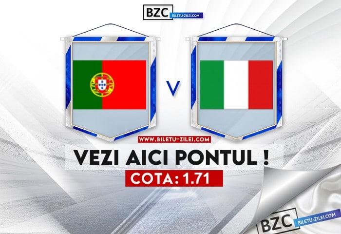 Portugalia U21 – Italia U21 ponturi pariuri 31.05.2021