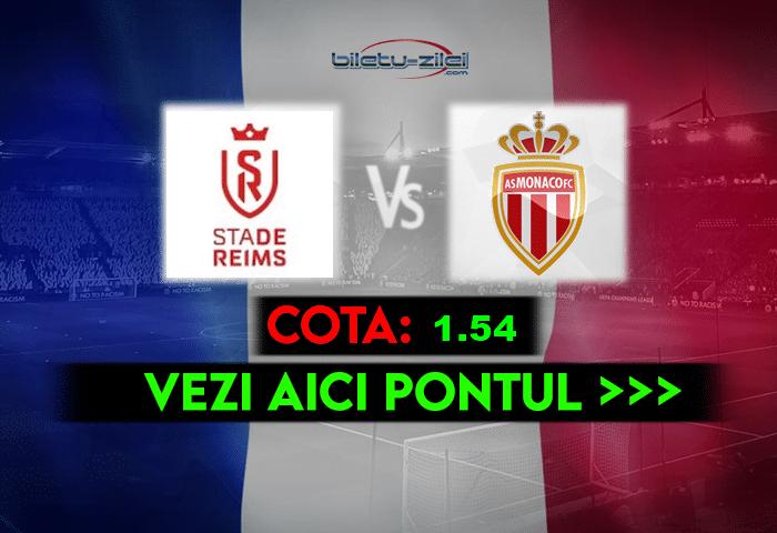 Reims – Monaco ponturi pariuri 09.05.2021