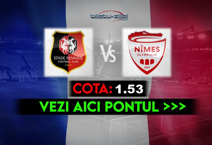 Rennes – Nimes ponturi pariuri 23.05.2021