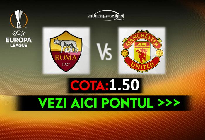 Roma – Manchester United ponturi pariuri 06.05.2021