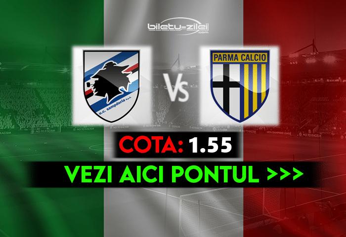 Sampdoria – Parma ponturi pariuri 22.05.2021