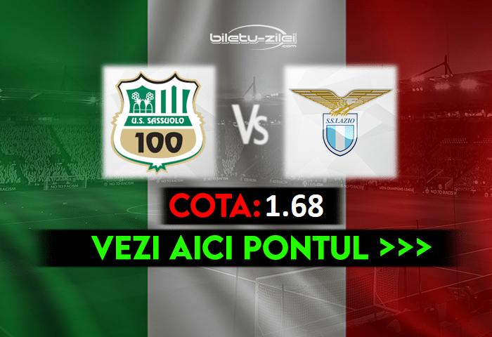 Sassuolo – Lazio ponturi pariuri 23.05.2021