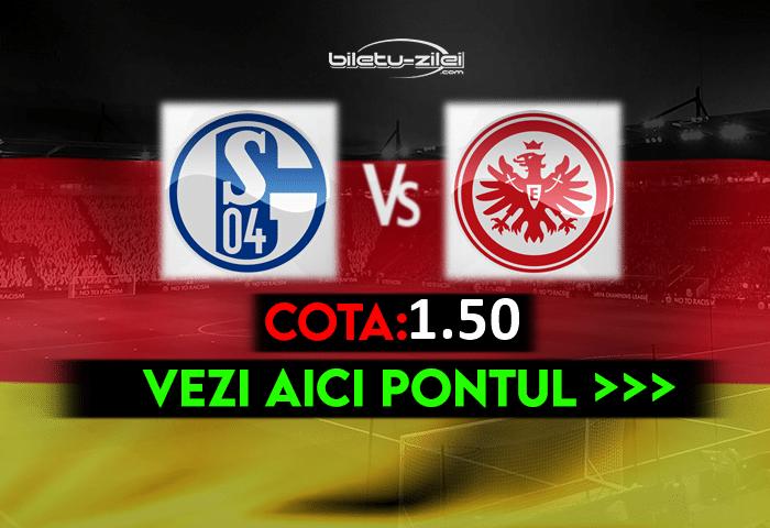 Schalke – Frankfurt ponturi pariuri 15.05.2021