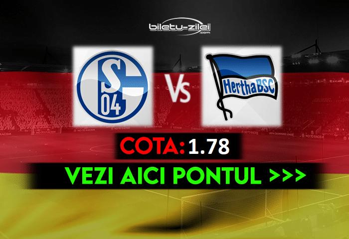 Schalke – Hertha ponturi pariuri 12.05.2021