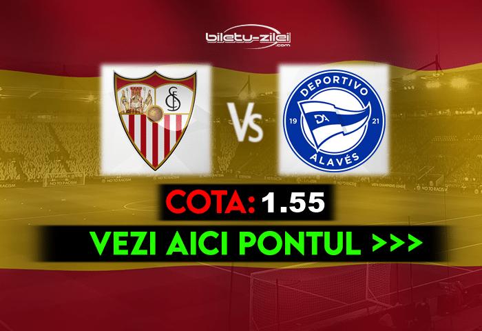 Sevilla – Alaves ponturi pariuri 23.05.2021