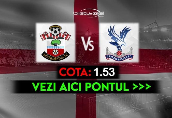 Southampton – Crystal Palace ponturi pariuri 11.05.2021