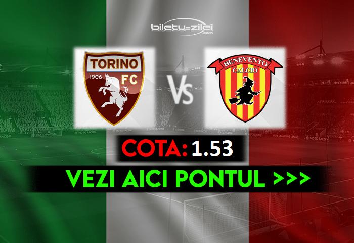 Torino – Benevento ponturi pariuri 23.05.2021