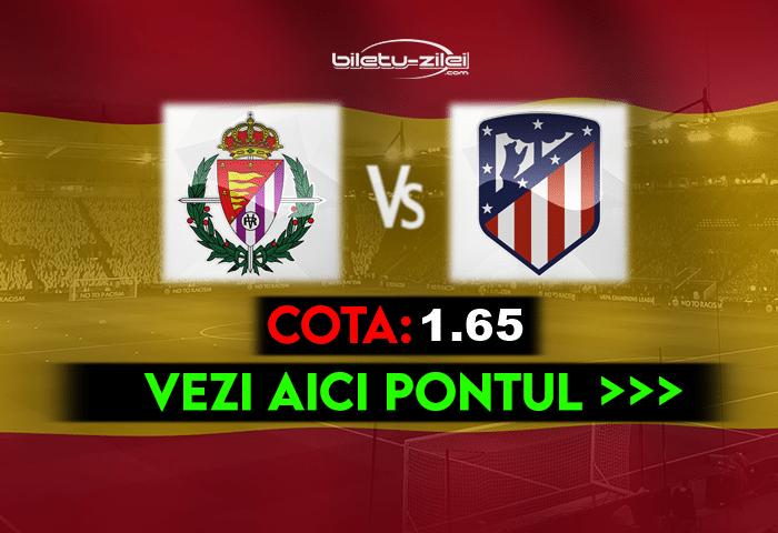 Valladolid – Atletico Madrid ponturi pariuri 22.05.2021