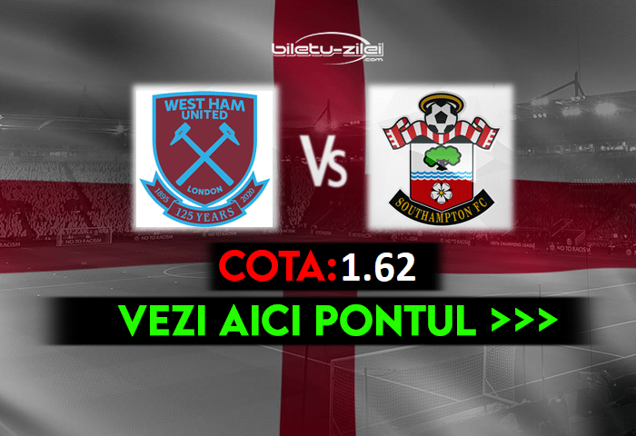 West Ham – Southampton ponturi pariuri 23.05.2021