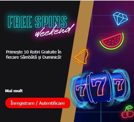 winmasters rotiri gratuite weekend