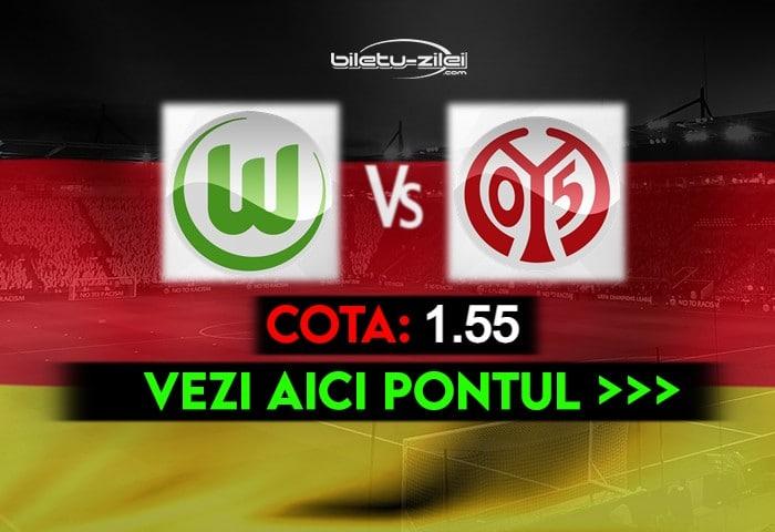 Wolfsburg – Mainz ponturi pariuri 22.05.2021