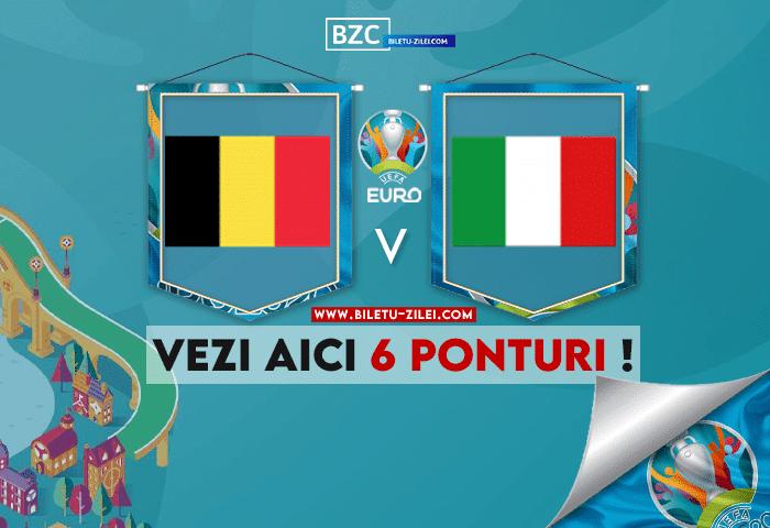 Belgia – Italia ponturi pariuri 02.07.2021