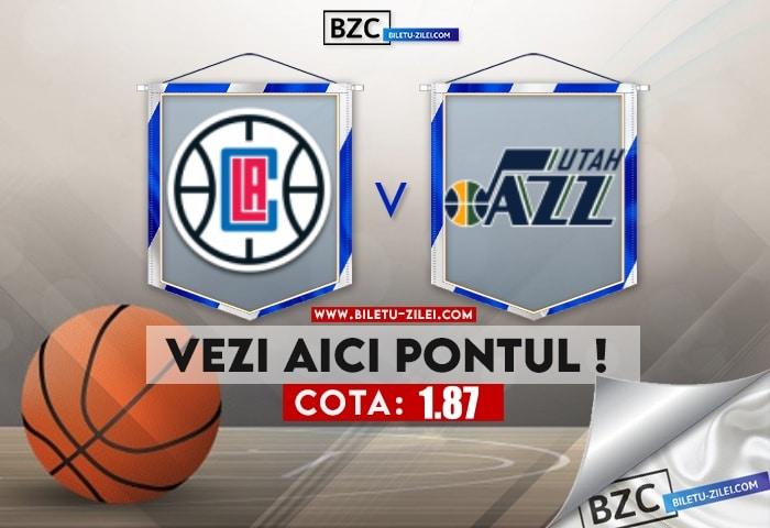 L.A. Clippers – Utah Jazz ponturi pariuri 14.06.2021