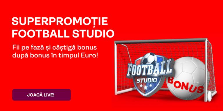 Football Studio la Superbet