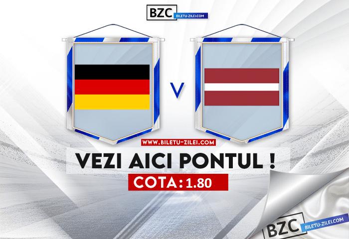 Germania – Letonia ponturi pariuri 07.06.2021
