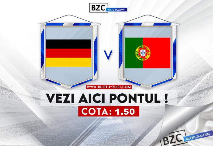 Germania U21 – Portugalia U21 ponturi pariuri 06.06.2021