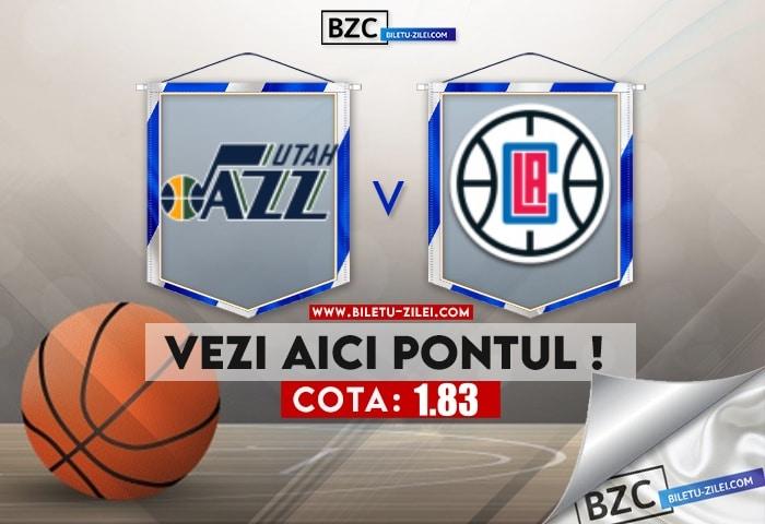 Utah Jazz – L.A. Clippers ponturi pariuri 16.06.2021