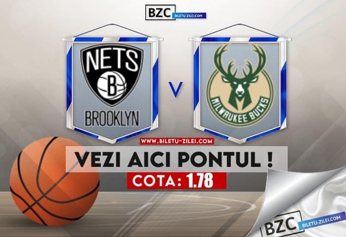 Brooklyn Nets – Milwaukee Bucks ponturi pariuri 15.06.2021