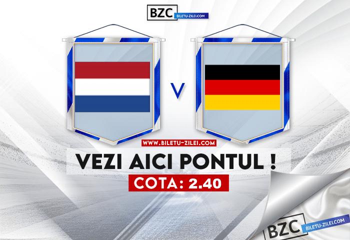 Olanda U21 – Germania U21 ponturi pariuri 03.06.2021