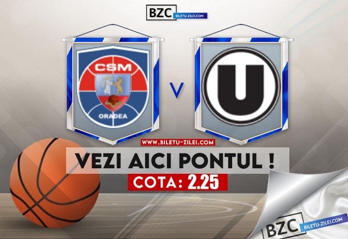 CSM Oradea – U BT Cluj ponturi pariuri 17.06.2021