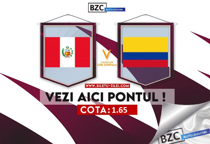 Peru – Columbia ponturi pariuri 04.06.2021