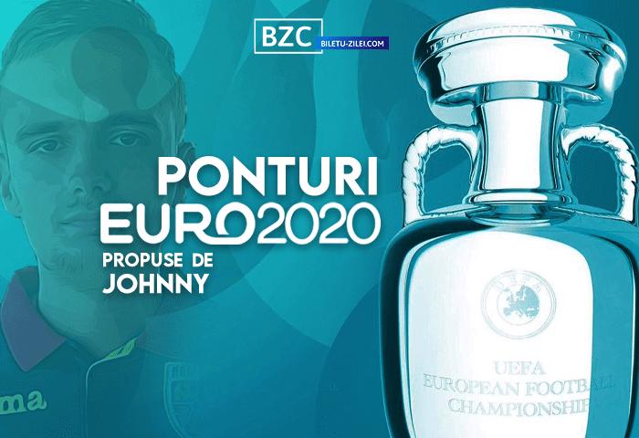 Ponturi fotbal EURO 2020 propuse de Johnny