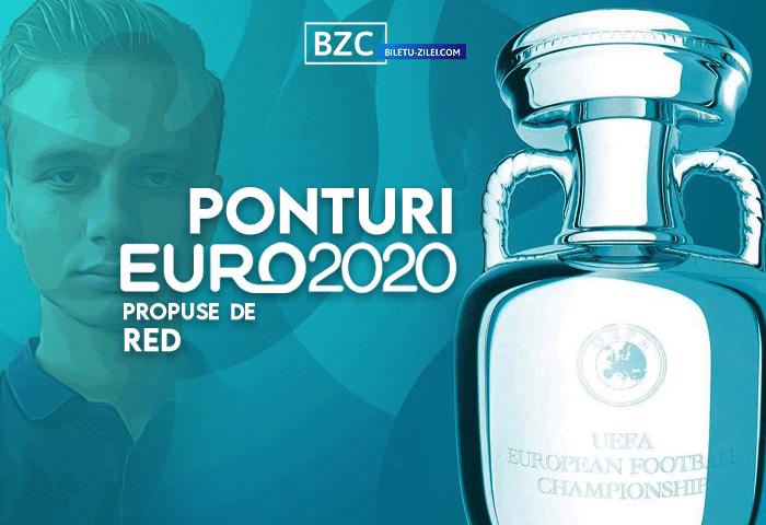 Pronosticuri pariuri EURO 2020 propuse de Red