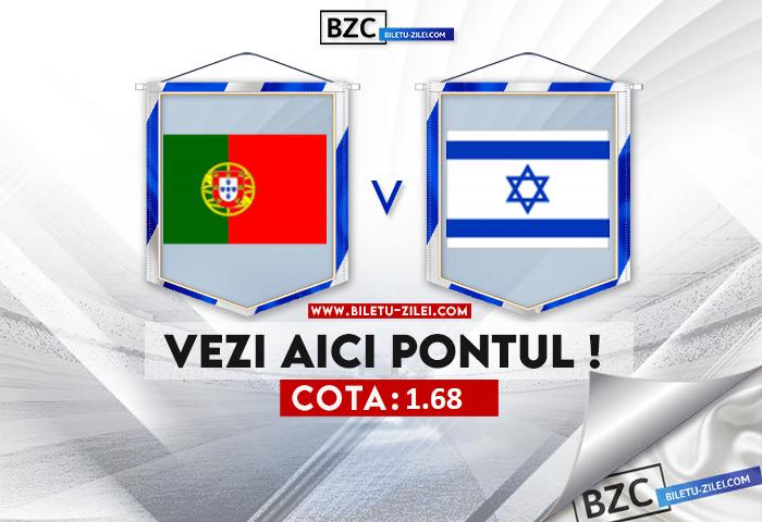 Portugalia – Israel ponturi pariuri 09.06.2021