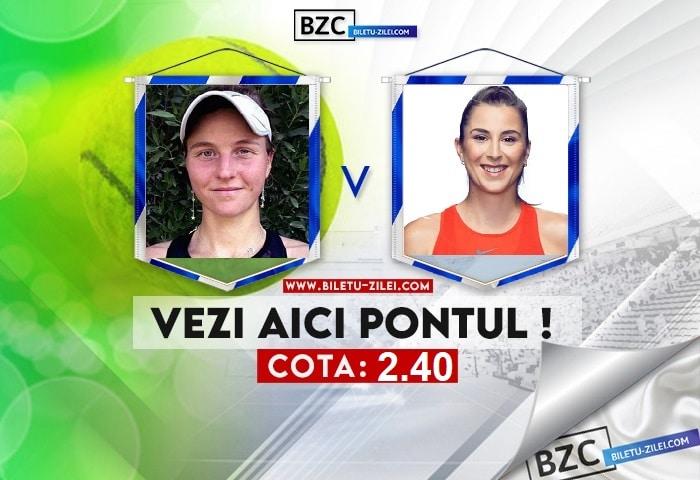 Liudmila Samsonova – Belinda Bencic ponturi pariuri 20.06.2021