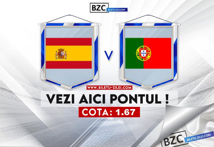 Spania – Portugalia ponturi pariuri 04.06.2021
