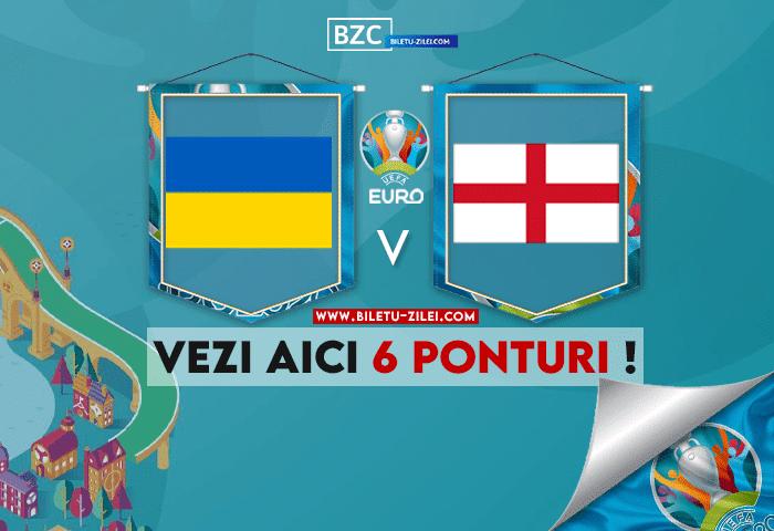 Ucraina – Anglia ponturi pariuri 03.07.2021