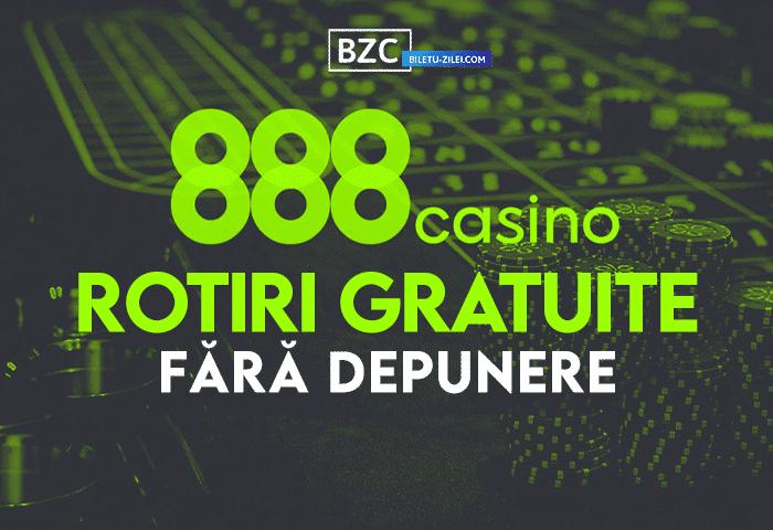 888 Casino rotiri gratuite fără depunere